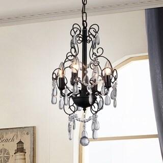 Eros 4-light Crystal Chandelier