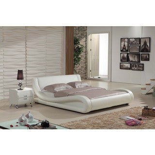 Dona 2-piece Ivory Modern Bed Set