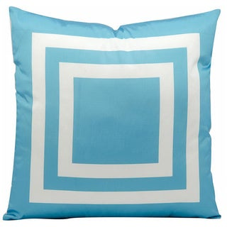 Nourison Mina Victory Turquoise Indoor/ Outdoor 20-inch Throw Pillow