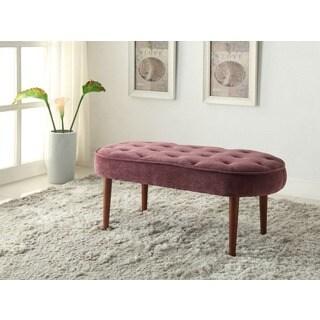 Linon Lavender Elegance Bench