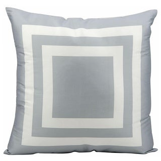 Nourison Mina Victory Grey Indoor/ Outdoor 20-inch Throw Pillow