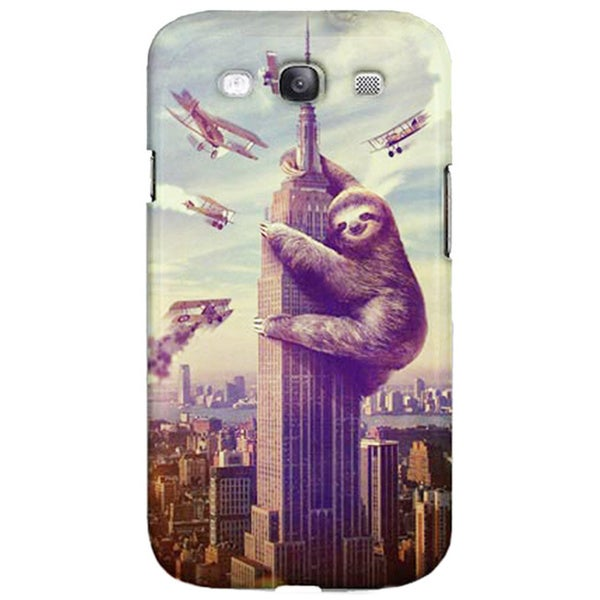 Sharp Shirter Slothzilla Samsung Galaxy S3 Case