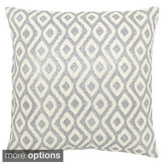 SIlvertone Geometric Capri Throw Pillow