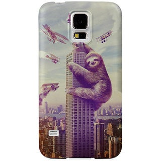 Sharp Shirter Slothzilla Samsung Galaxy S5 Case