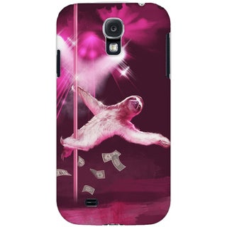 Dancing Sloth Samsung Galaxy S4 Protective Phone Case