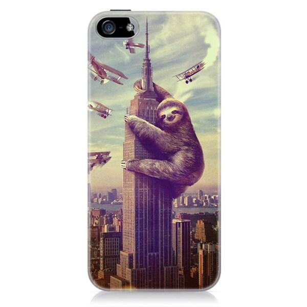 Sharp Shirter Slothzilla iPhone 5C Case