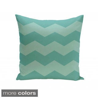 20 x 20-inch Two-tone Chevron Print Decorative Throw Pillow