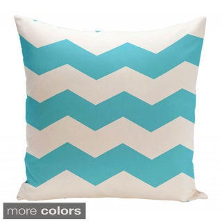 18 x 18-inch Chevron Print Decorative Throw Pillow