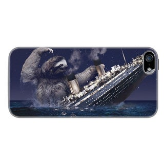 Sharp Shirter Sloth Titanic iPhone 5 & 5S Case