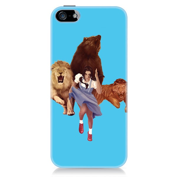 Sharp Shirter Lion Tiger Bear iPhone 5 & 5S Case