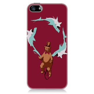 Sharp Shirter Jaws & Paws iPhone 5 & 5S Case