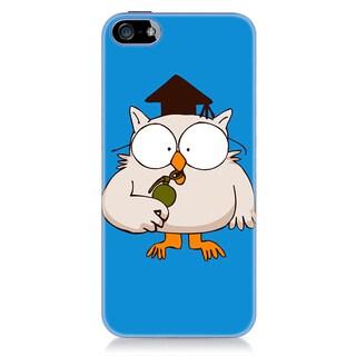 Sharp Shirter Mr. Owl iPhone 5 & 5S Case