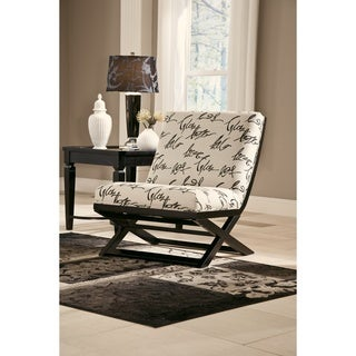 Signature Design by Ashley Levon Charcoal Showood Accent Chair