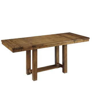 Signature Design by Ashley Rectangular Dining Room Counter Extension Table