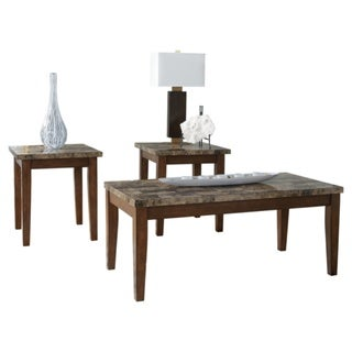 Signature Design by Ashley Theo 3-piece Occasional Table Set