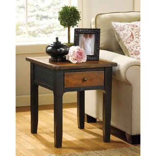 Signature Design by Ashley Paskene Two-tone End Table