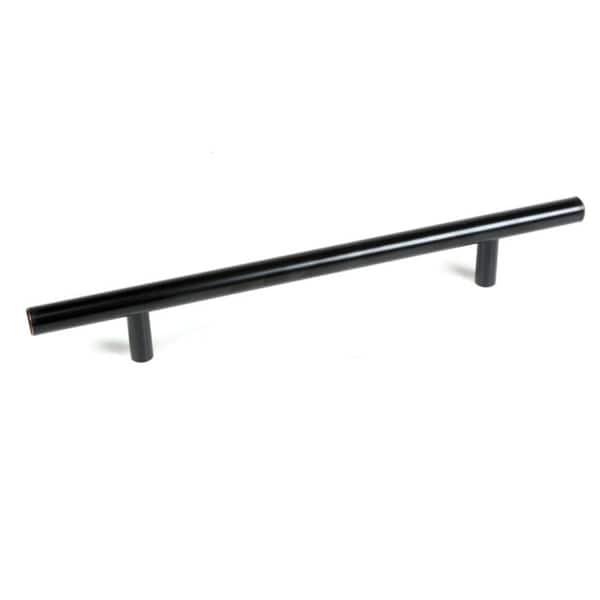 Solid Oil Rubbed Bronze Cabinet Bar Pull Handles (Case of 5)