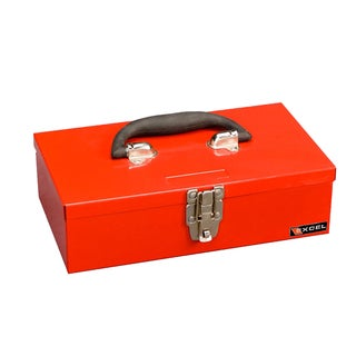 Excel 11-inch Portable Steel Tool Box