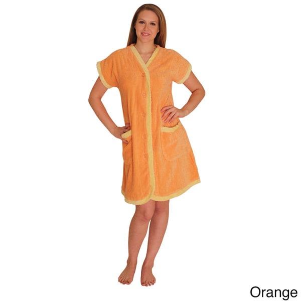 NDK New York Women's Chenille Robe