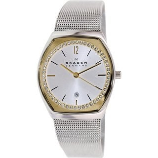 Skagen Women's SKW2050 Silvertone Stainless Steel Quartz Watch
