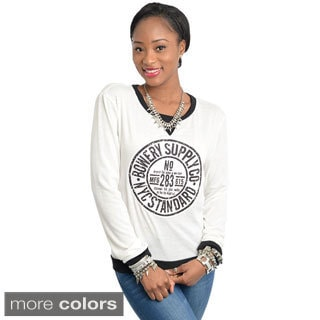 Feellib Juniors Stamp Graphic Sweater