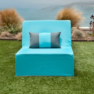 Softblock LowBoy Aruba Blue Outdoor Chair