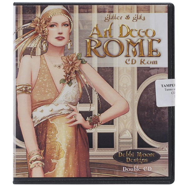 Debbi Moore Art Deco CD ROM-Rome