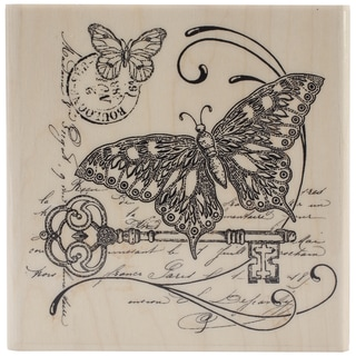 Penny Black Mounted Rubber Stamp 4inX4in-Gathering Together