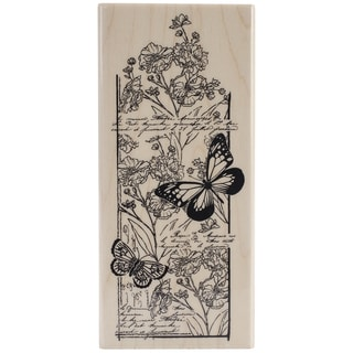 Penny Black Mounted Rubber Stamp 2.5inX5.5in-Butterfly Chapter