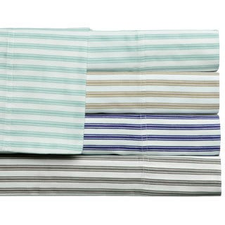 Plantation Stripe 300 Thread Count Sheet Set