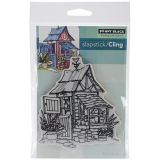 Penny Black Cling Rubber Stamp 4inX6in Sheet-Potters Shed