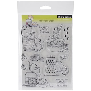 Penny Black Clear Stamps 5.25inX7in Sheet -Homemade