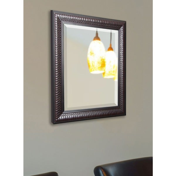 American Made Rayne Royal Curved Beveled Vanity Wall Mirror 13358399