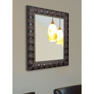 American Made Rayne Classic Feathered Mahogany Wall Mirror