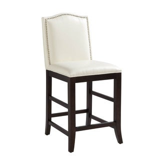 Sunpan Maison Leather Counter Stool