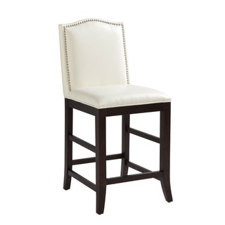 Sunpan '5West' Maison Leather Counter Stool