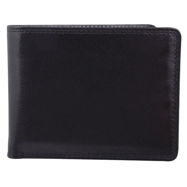 Bugatti Men's Bi-fold Identity Block Wallet