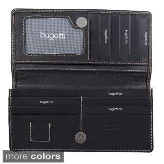 Bugatti Women's Identity Block Nappa Leather Wallet