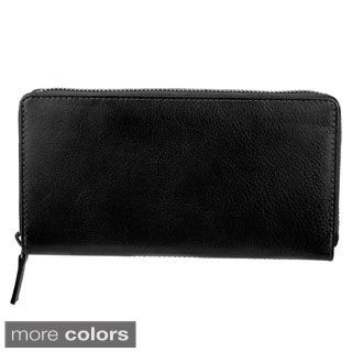 Bugatti Women's Identity Block Zip-around Wallet
