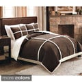 Suede and Sherpa Down Alternative Comforter