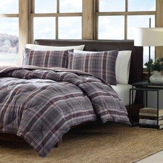 Eddie Bauer Port Orchard Down Alternative Reversible 3-piece Comforter Set