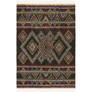 Safavieh Hand-woven Kenya Multicolored Wool Rug (6' x 9')