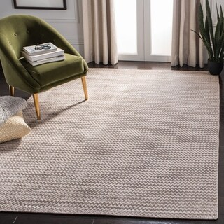 Safavieh Hand-woven Mirage Graphite Banana Silk Rug (8' x 10')