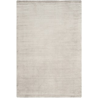 Safavieh Hand-woven Mirage Graphite Banana Silk Rug (9' x 12')