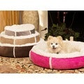 Best Friends by Sheri Winter Round Bumper Pet Bed