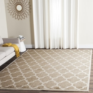 Safavieh Indoor/ Outdoor Amherst Wheat/ Beige Rug (4' x 6')