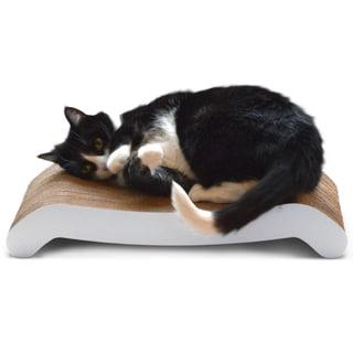 PetFusion Cat Scratcher FLIP - White