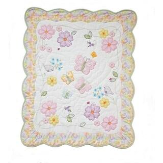 Nurture Imagination Butterfly Garden Quilt