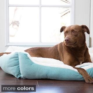 Best Friends by Sheri Ilan Rectangular Bumper Pet Bed