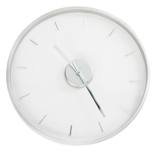 Hsn 20-inch See-through Modern Design Wall Clock